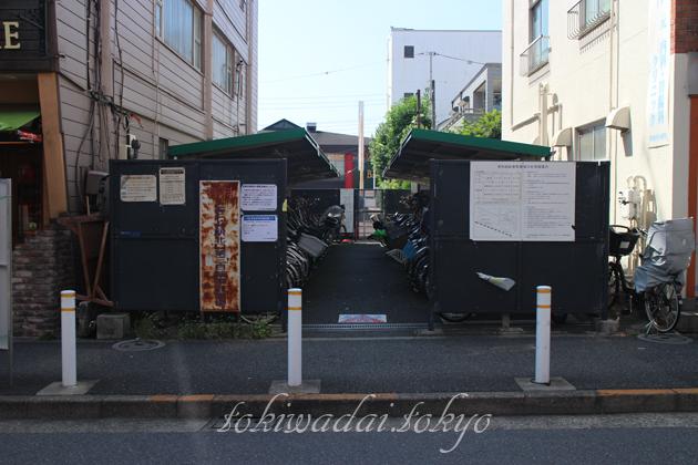 ときわ台駅北口第三自転車駐車場