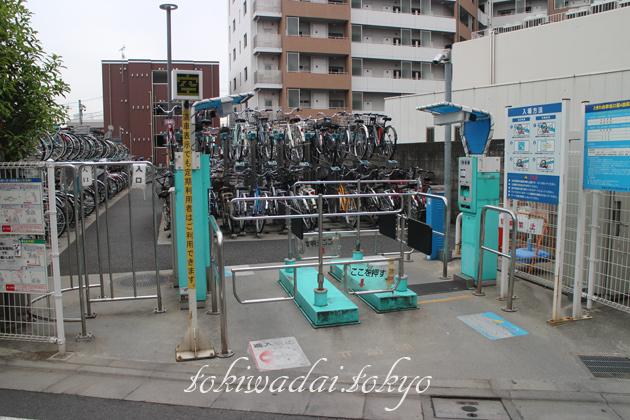 ときわ台駅北口第4自転車駐車場