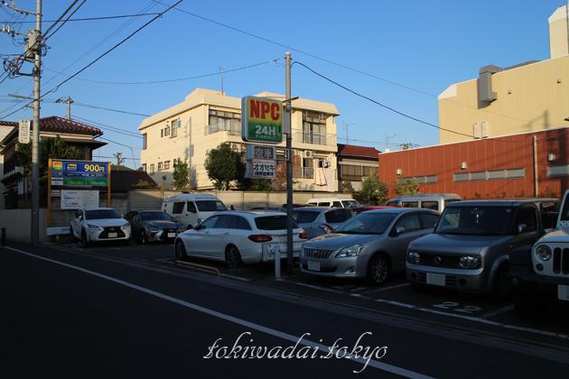 『オオゼキ』ときわ台店、駐車場