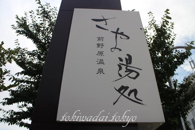 前野原温泉 『さやの湯処』