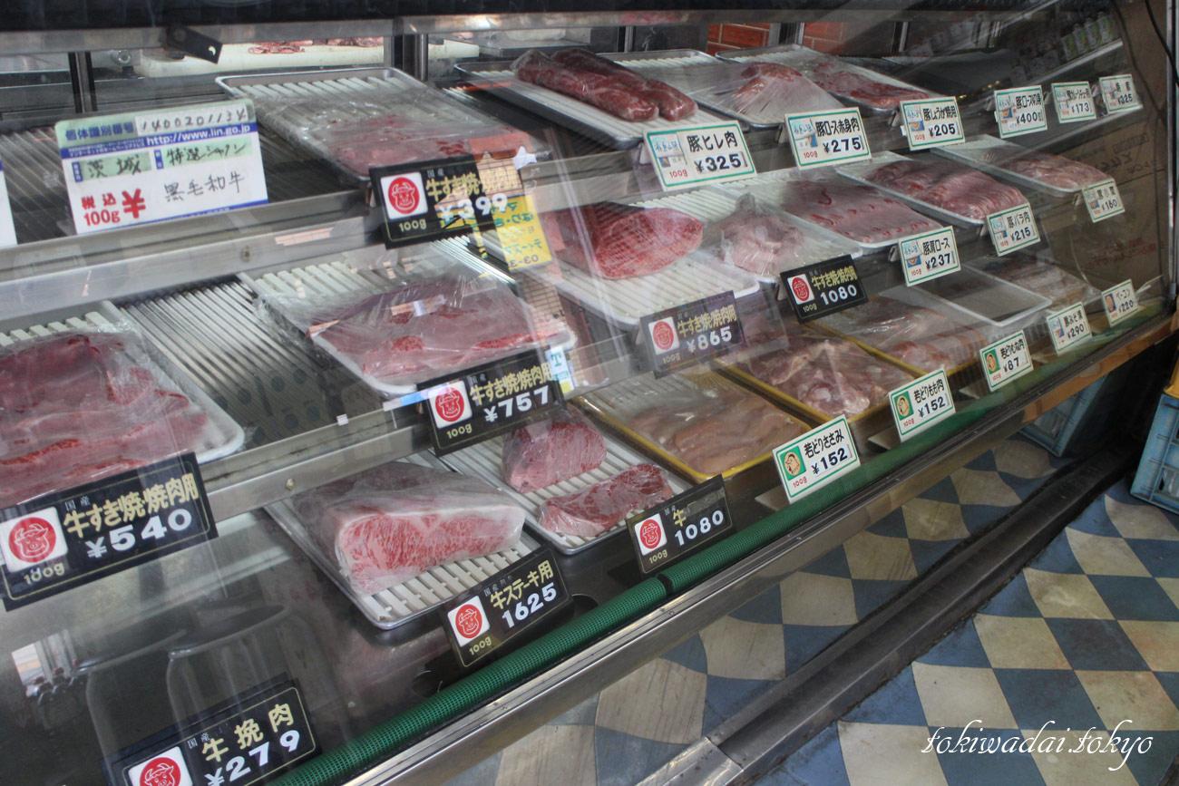 肉のタムラ。お肉のショーケース。