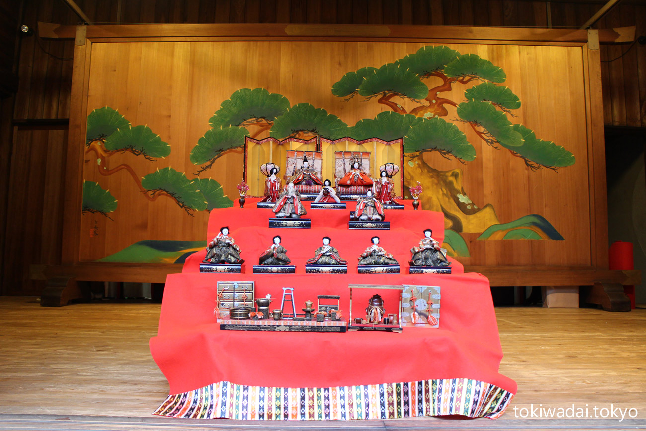 ときわ台 天祖神社のお雛様