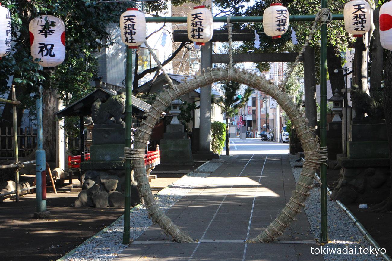 天祖神社、令和最初の大晦日