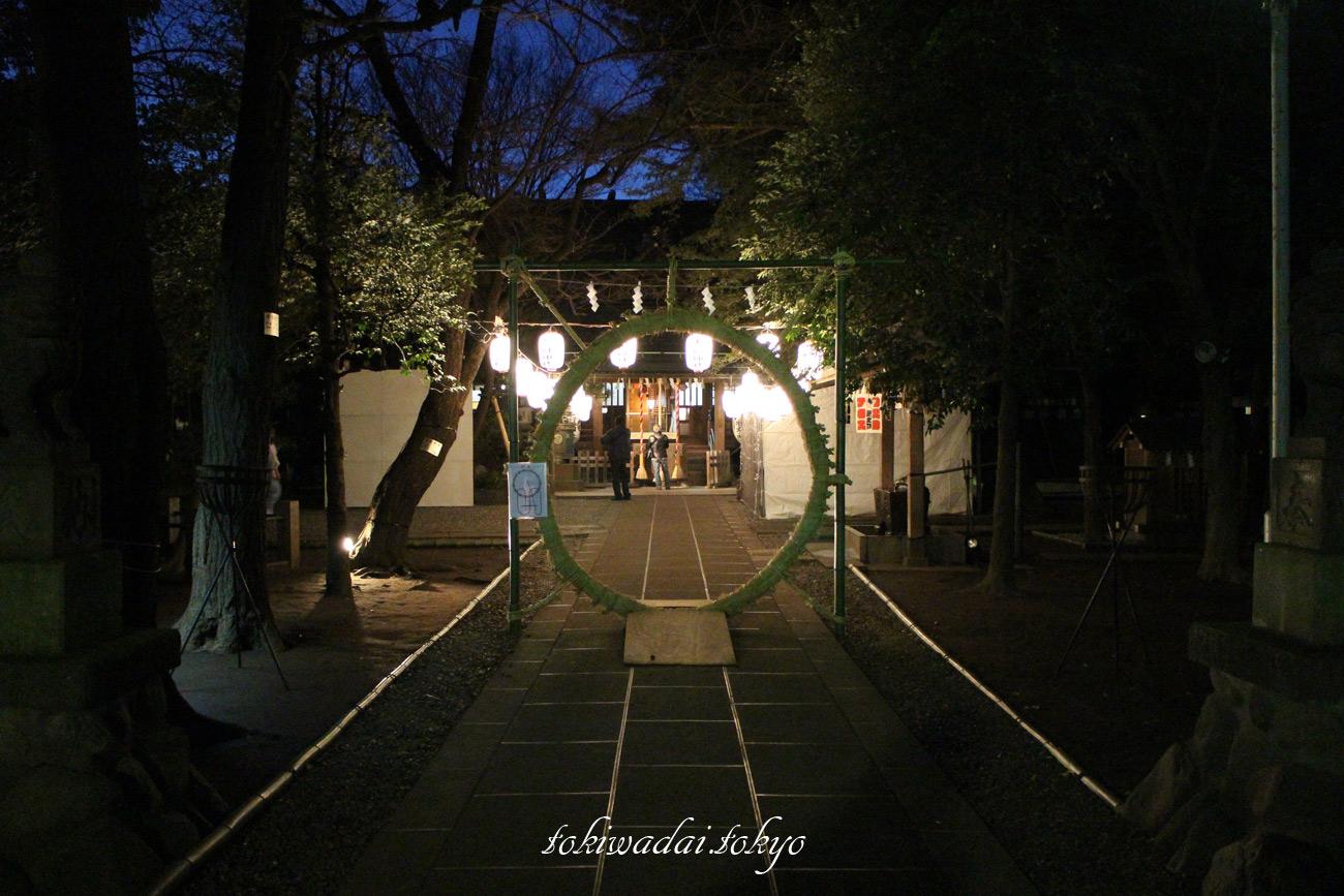 天祖神社、大晦日、2016年