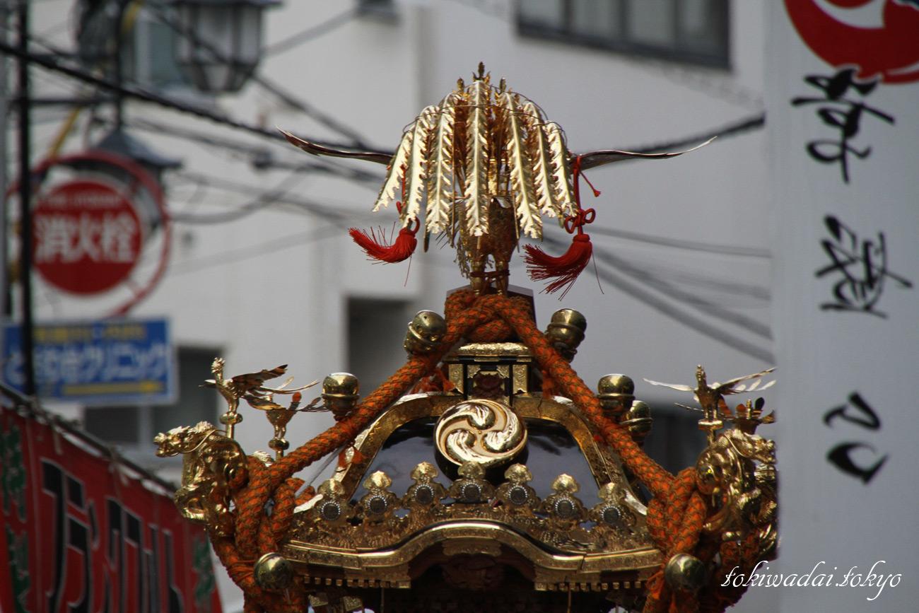 2017年、天祖神社「秋祭り」