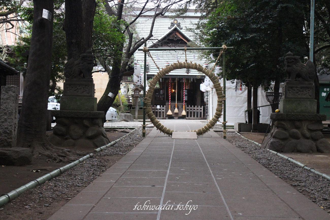 2017年、天祖神社大晦日
