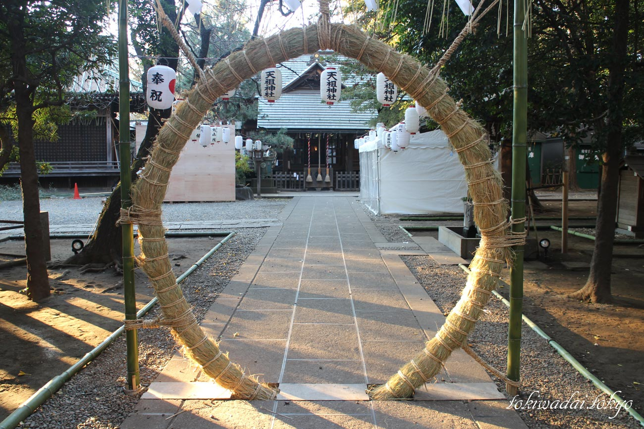 天祖神社、平成最後の大晦日