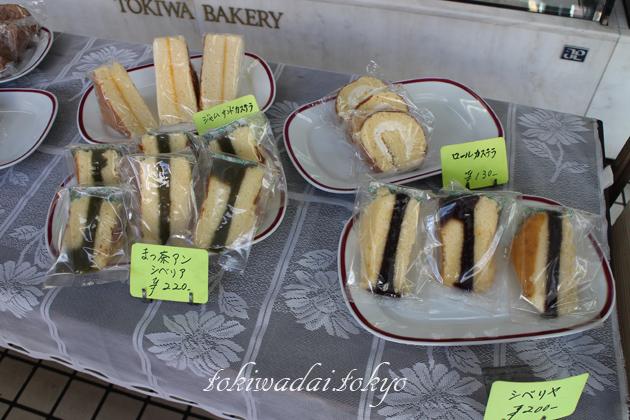 手づくり ケーキ・パン「トキワベーカリー」シベリアあります。